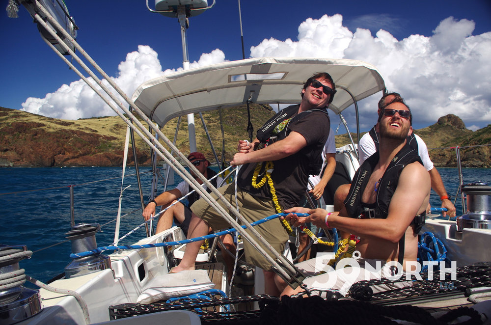 Leg 2, 2016 from BVI to Antigua. Sailed on to anchor in Ile Fourche. Feb 2016