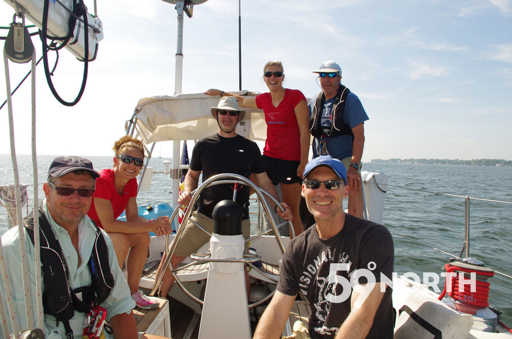 Leg 5 2016 from Ft. Lauderdale to Annapolis! Isbjorn is now back in the Chesapekae after a winter in the Caribbean. May 2016