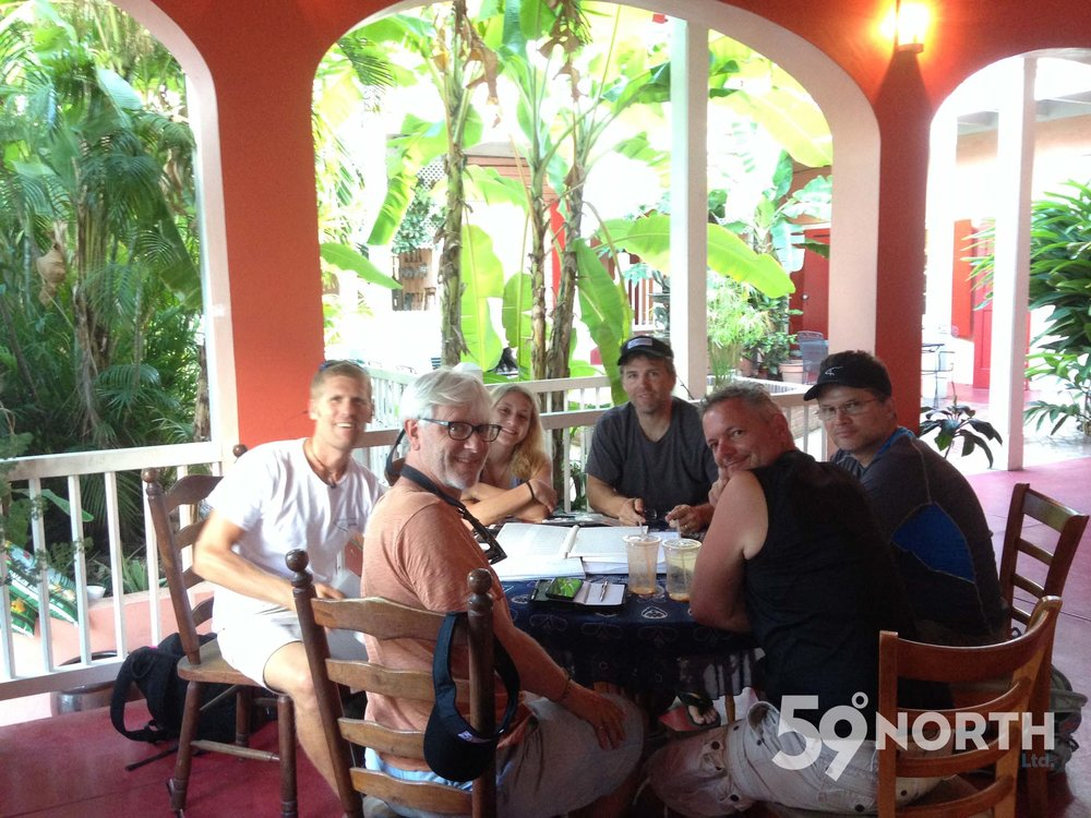 Celestial Navigation workshop at 'The Courtyard' in Christiansted, St.Croix