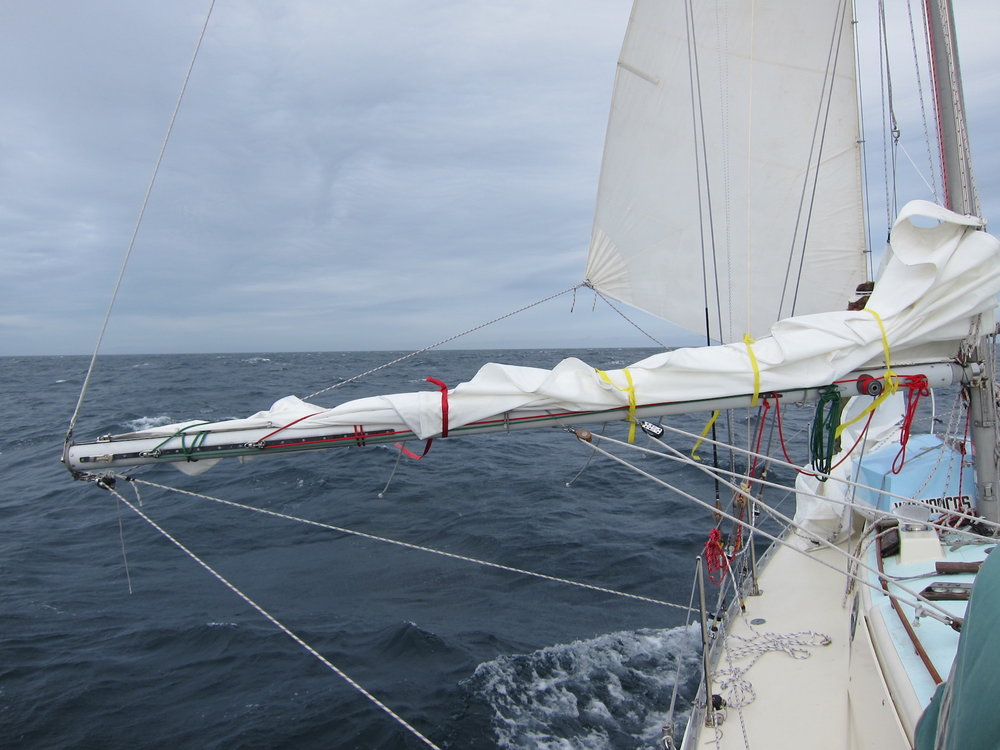 Only small sails needed a day like today