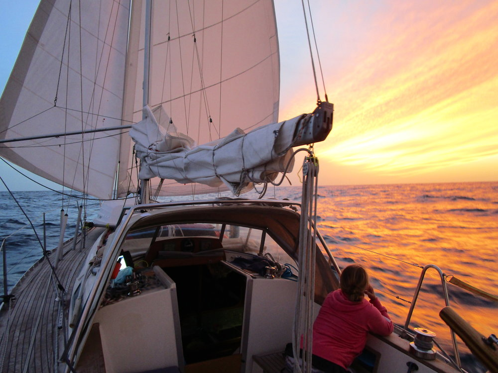 "Beautiful sail from Gran Canaria to Cape Verde. ""On the Wind podcast Episode #206"" 59-north.com"