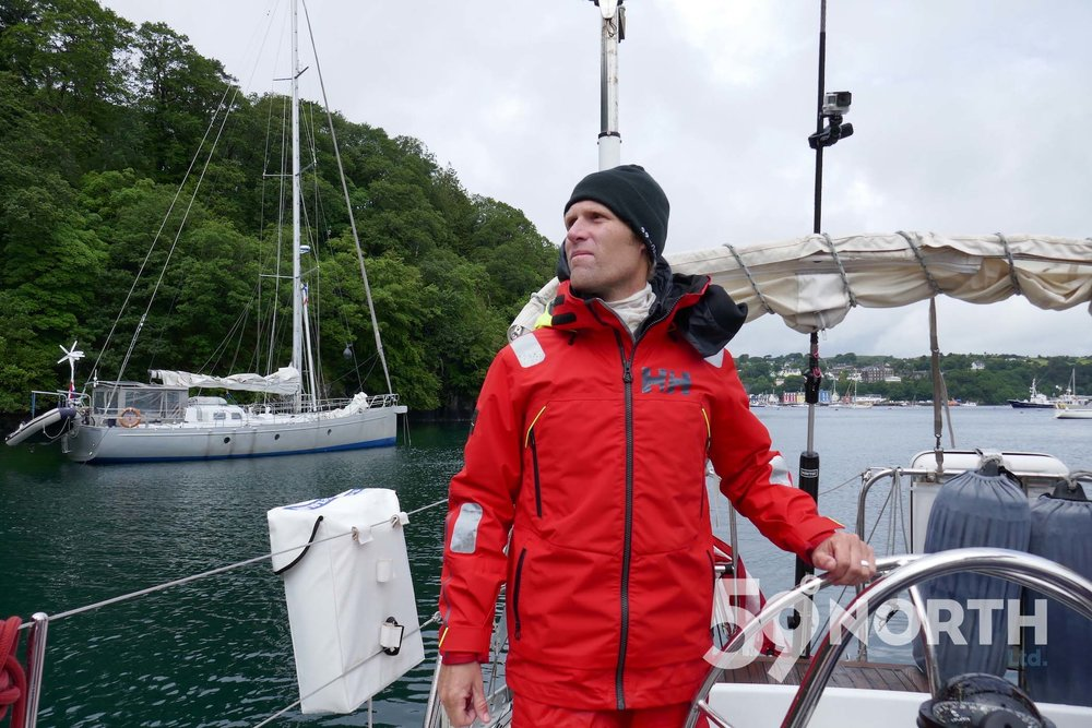 Sailing in to Tobermory, Leg 8, 2017: Sweden to Scotland 59-north.com