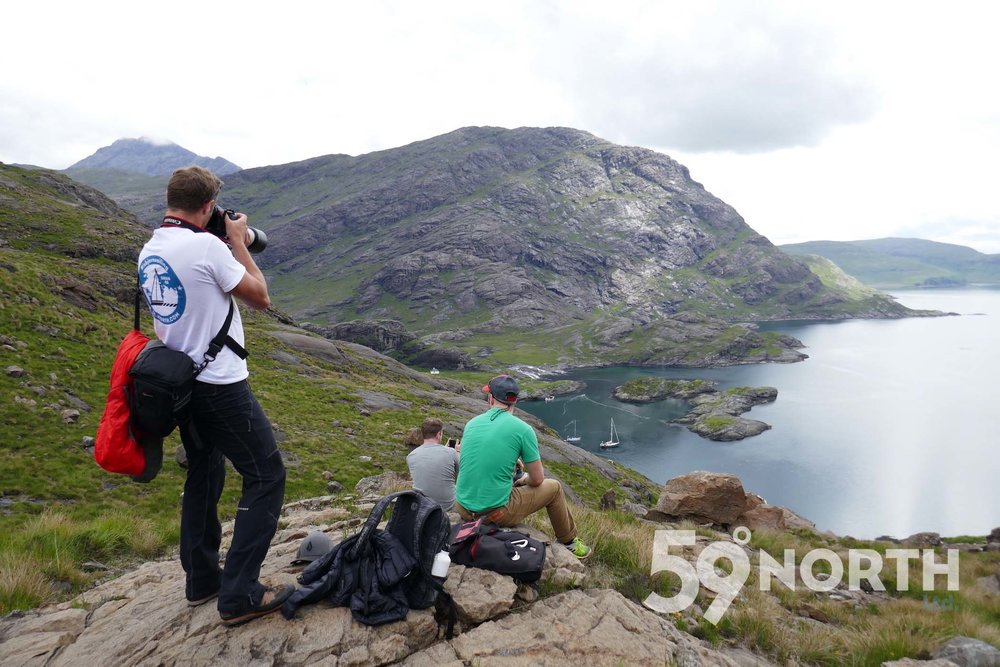 Hiking the Cuillin Hills, Loch Scavaig! Leg 8, 2017: Sweden to Scotland 59-north.com