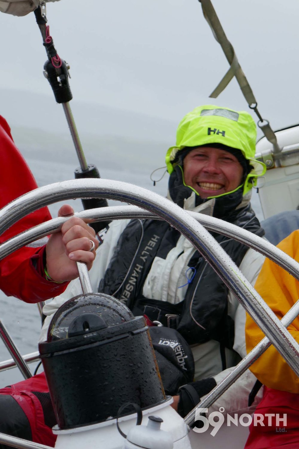 Sailing north from Isle of Skye to the outer Hebrides ! Leg 8, 2017: Sweden to Scotland 59-north.com