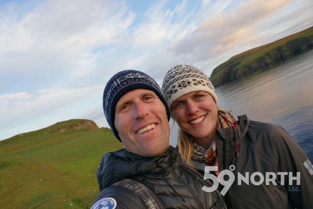 Fair Isle hand knitted hats!!  Leg 8, 2017: Sweden to Scotland 59-north.com
