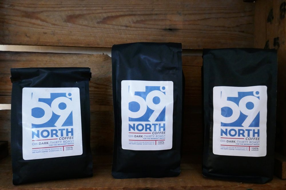 'Oh-Dark-Thirty' Coffee - Small-batch roasted in rural PA // by Fat Puppy Coffee