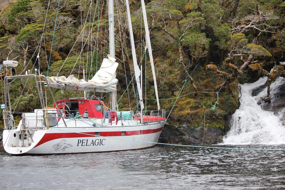 Pelagic taking on water, Tierra del Fuego // #OntheWindPodcast w. Skip Novak, #210 // 59-north.com