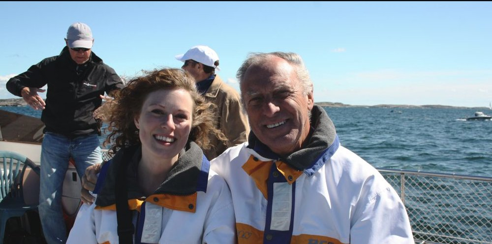 Göran and his daughter Charlotte // #OntheWindPodcast Episode #230 with Göran Rutgerson // www.59-north.com/podcast