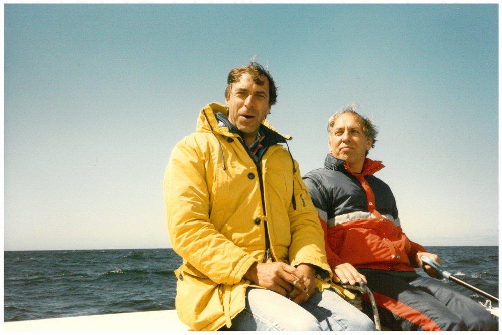 Göran Rutgerson & Peter Harkin 1986 // #OntheWindPodcast Episode #230 with Göran Rutgerson // www.59-north.com/podcast