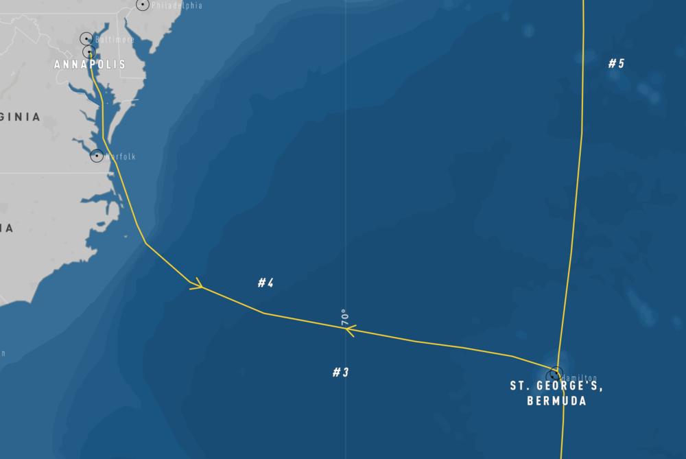 2020 Bermuda-Annapolis Map