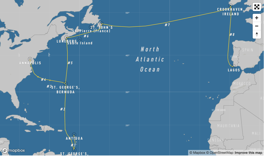 2020 - Bermuda Race & North Atlantic