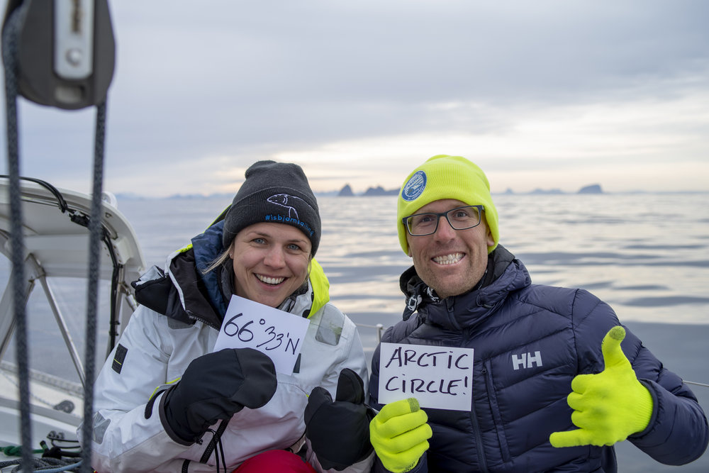 Offshore Sailing Adventures   Norway '18 // Crossing the Arctic Circle!