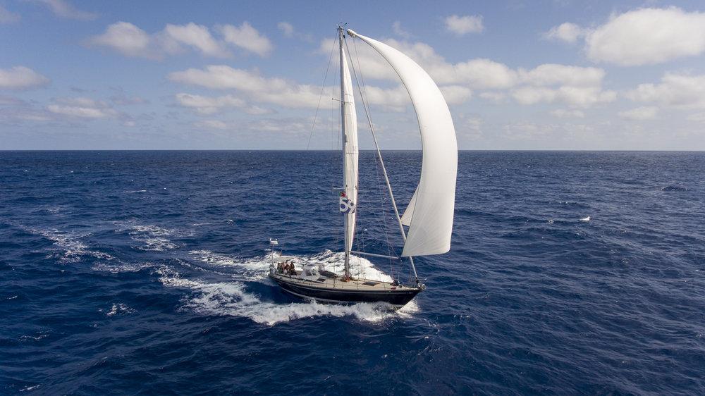Offshore Sailing Adventures   Summer '17 // Spinnaker Surfin' en route to Madeira