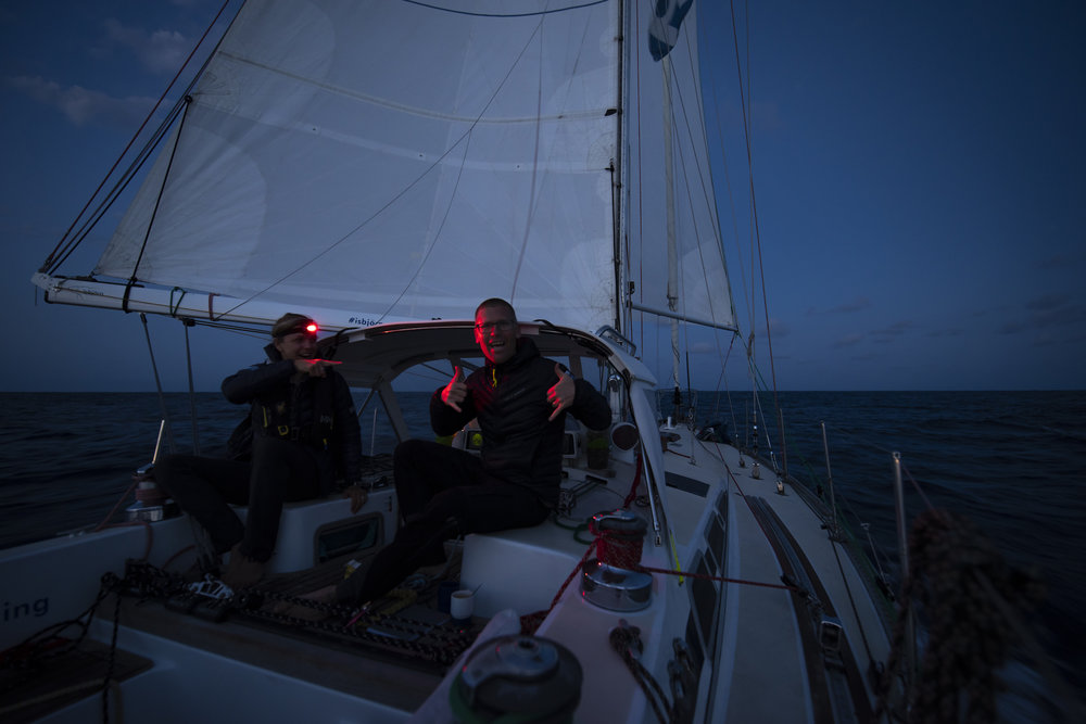 Captain Andy turned 35 on the trans-At!
