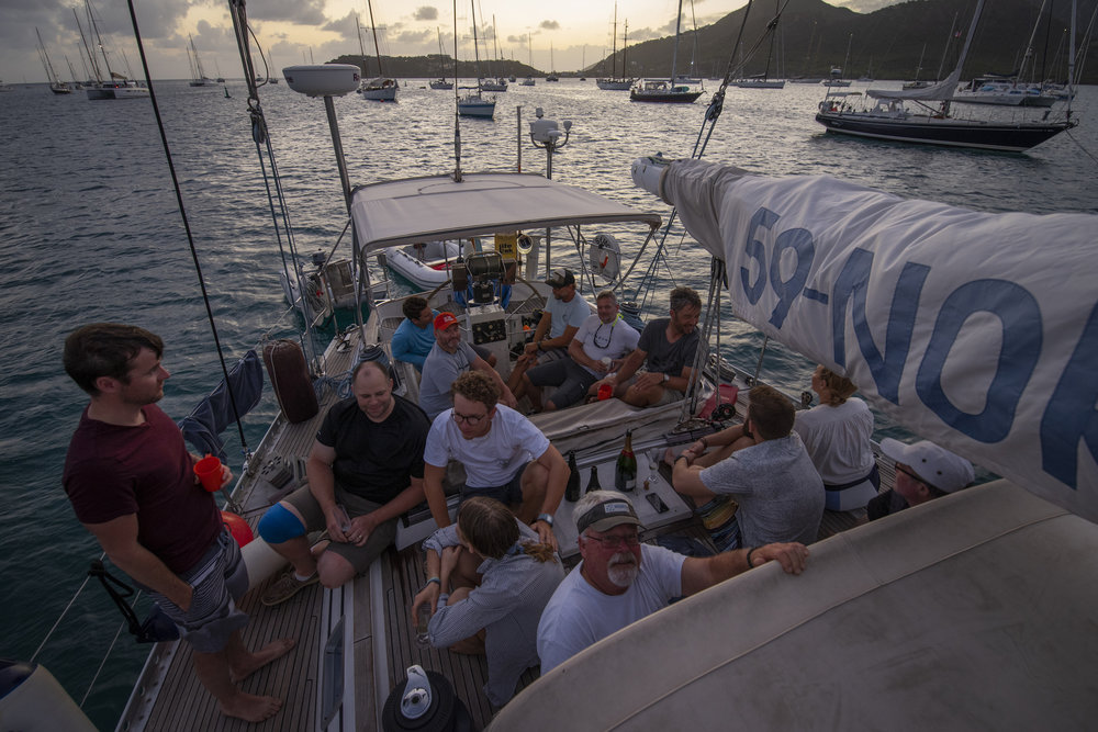 Party on ICE BEAR in Antigua! ISBJORN in the background. Pretty cool feeling!