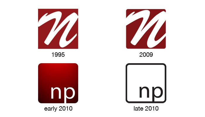 The evolution of a logo.