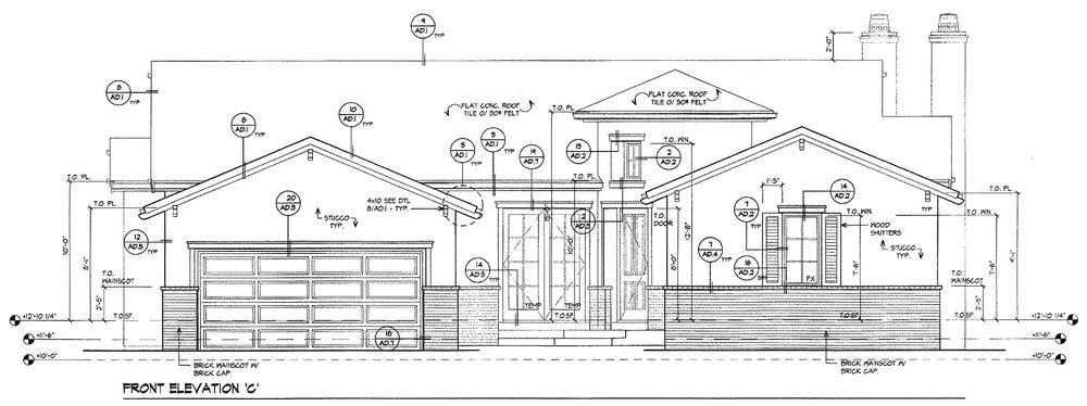 Greystone Homes, The Masters II - Plan 9, Elevation C