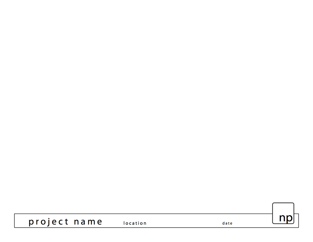 nap|architect presentation sheet (adobe indesign)