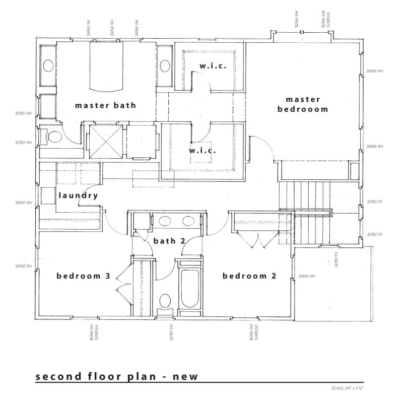 new second floor plan