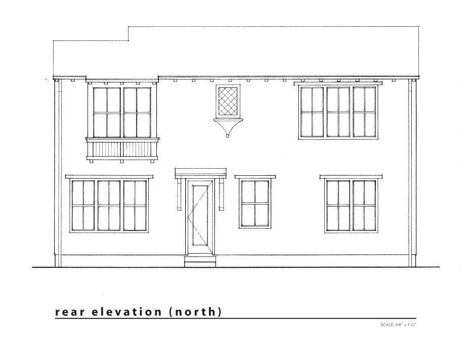 new rear  elevation