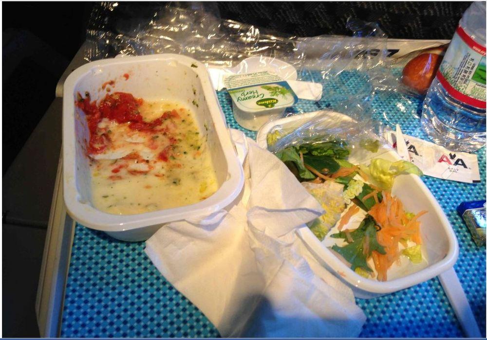 AA- economy class- food.JPG