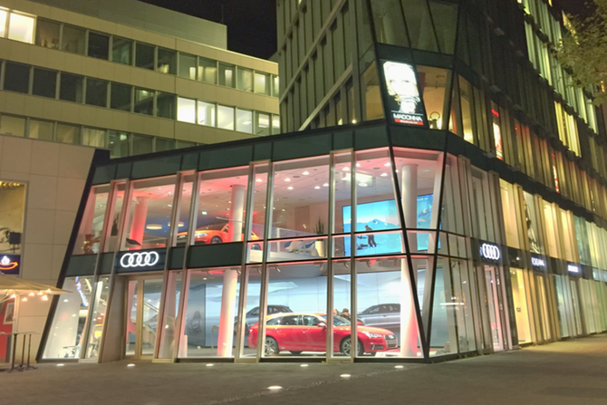 AUDI CITY: A MUSEUM-LIKE     EXPERIENCE FOR CLIENTS