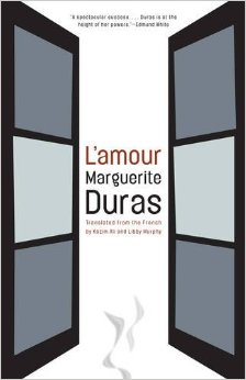by Marguerite Duras, translated from FRENCH by Kazim Ali & Libby Murphy