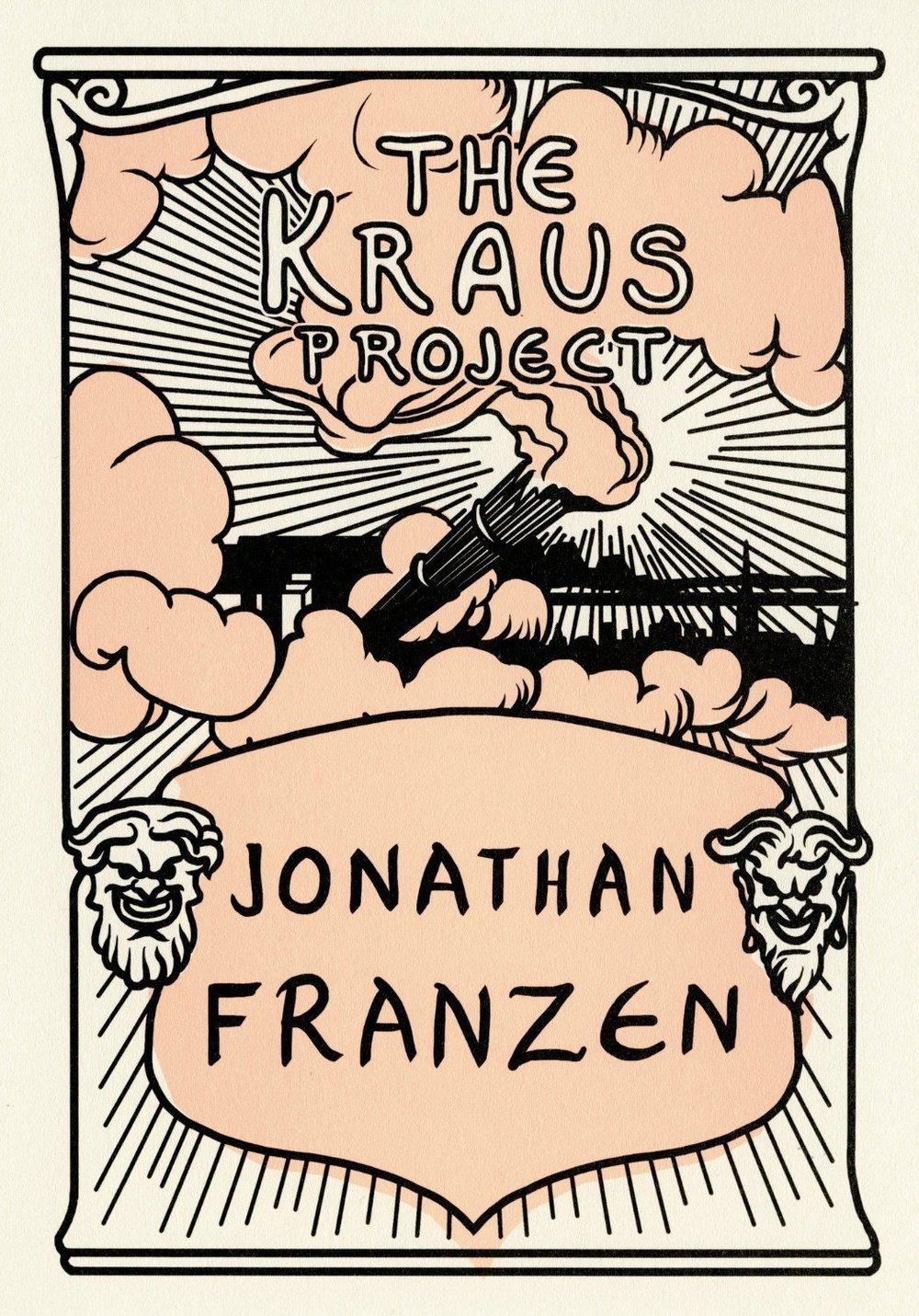 """""""The Kraus Project"""", que reúne ensaios de Karl Kraus e foi editado e traduzido do ALEMÃO para o INGLÊS por Jonathan Franzen, está entre os finalistas na categoria CRÍTICA LITERÁRIA"""