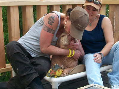 Susan and Randa with Tivi