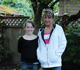 Jennifer with niece Jadyn
