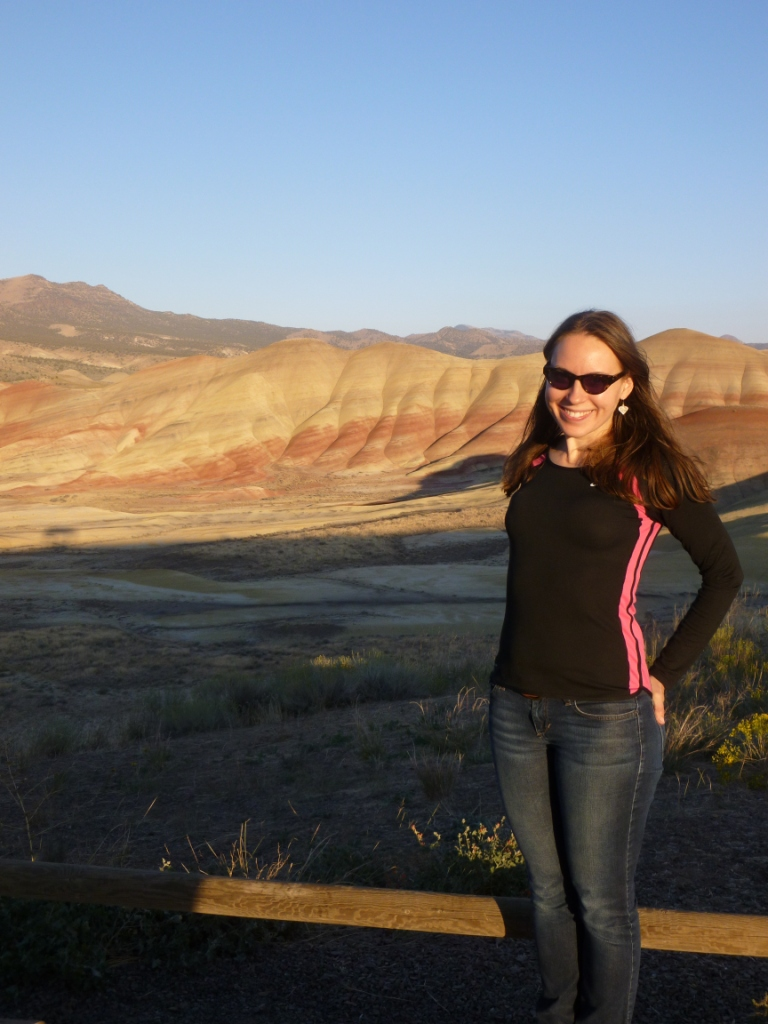 Monique at Painted Hills