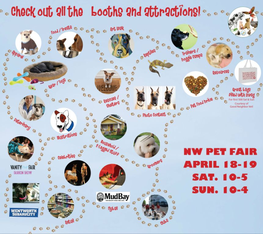 2015 NW Pet Fair - Time for THE Spring Fling!Furry FunPlanner