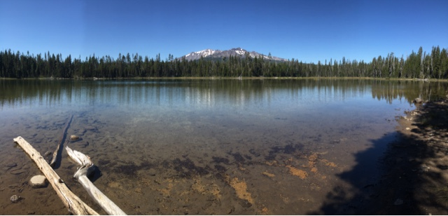 Diamond View Lake, one of my favorite lunch spots thus far.
