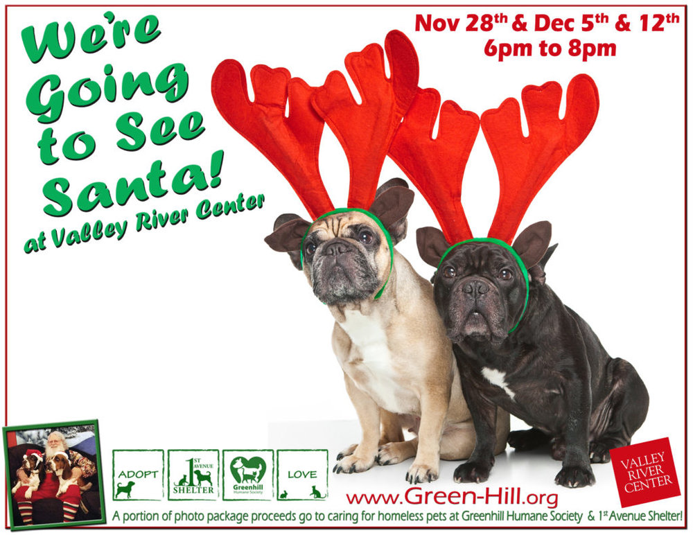 Pet Photos with SantaFurry FunPlanner sponsored by Bend Pet