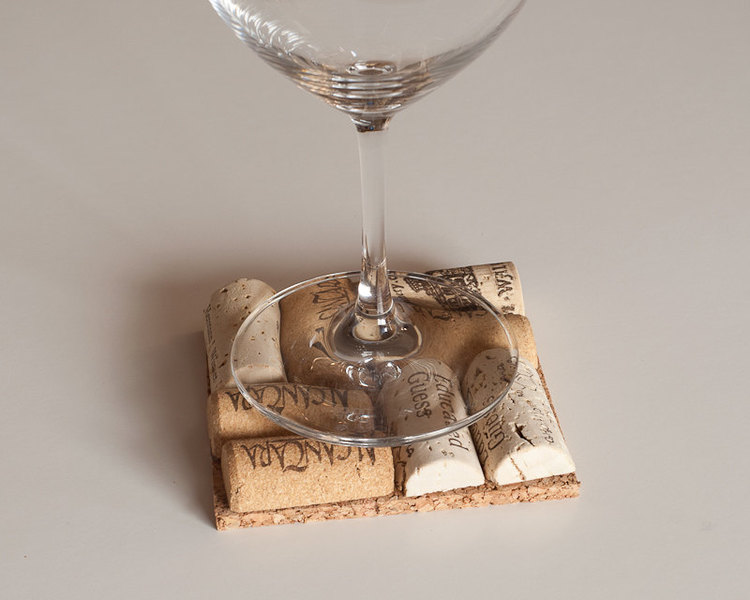 Wine Cork Coasters, Wine Cork Crafts, Wedding Favors, Wine Themed ...