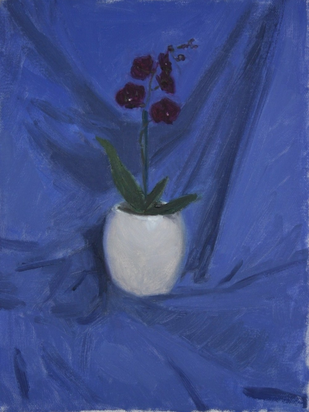 Nick Cuthell - Orchid, 2011, oil on canvas, 45 x 30cm.jpg