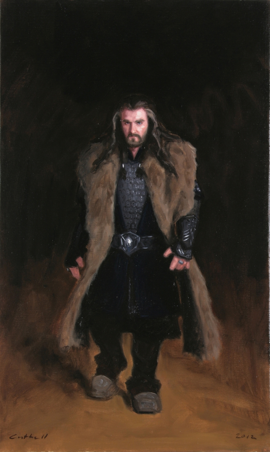 Thorin,  Oil on Linen, 84 x 51cm, 2012