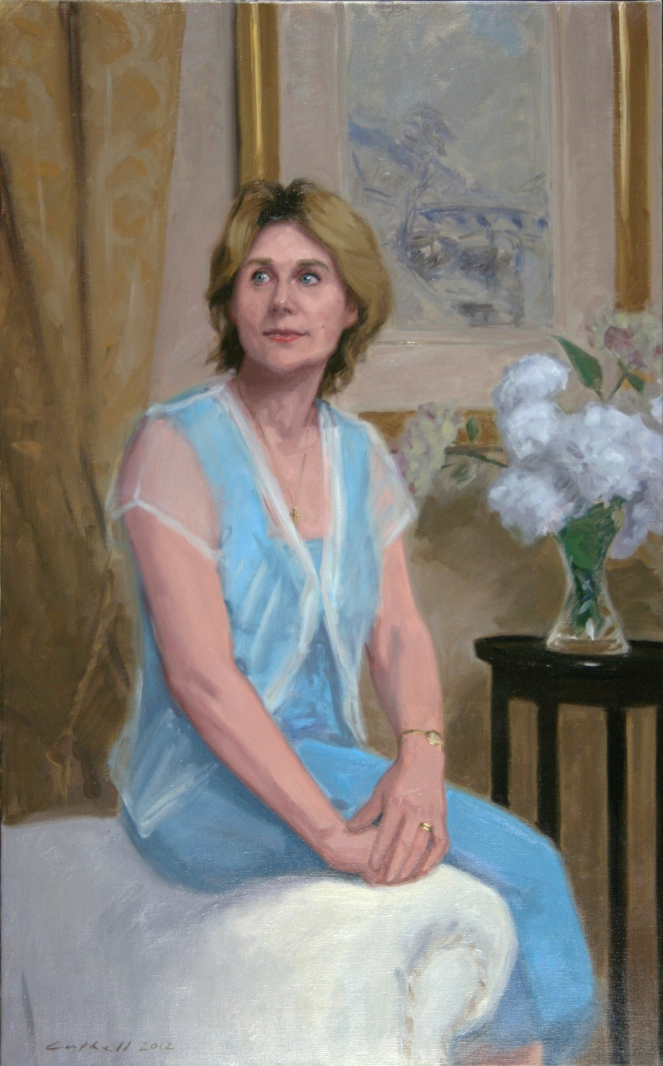Avenal McKinnon,  Oil on Linen, 137 x 92cm, 2012
