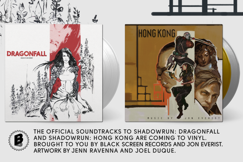 Under the Radar Magazine - Jon Everist's Acclaimed Shadowrun Scores Coming to Vinyl from Black Screen RecordsShadowrun: Hong Kong and Shadowrun: Dragonfall soundtracks to arrive later this winter