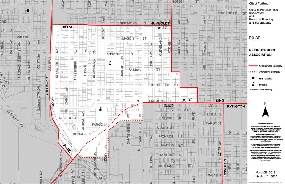 Boise Neighborhood Boundaries