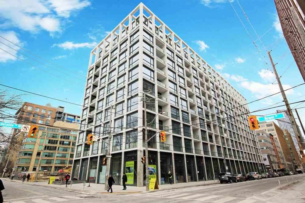 Sold |  Suite  815  at  Brant on the Park    39 Brant Street Toronto