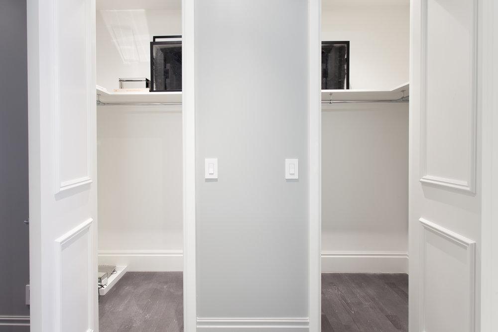 Residence 3501 Master Bedroom Closet II - Denise Militzer.jpg