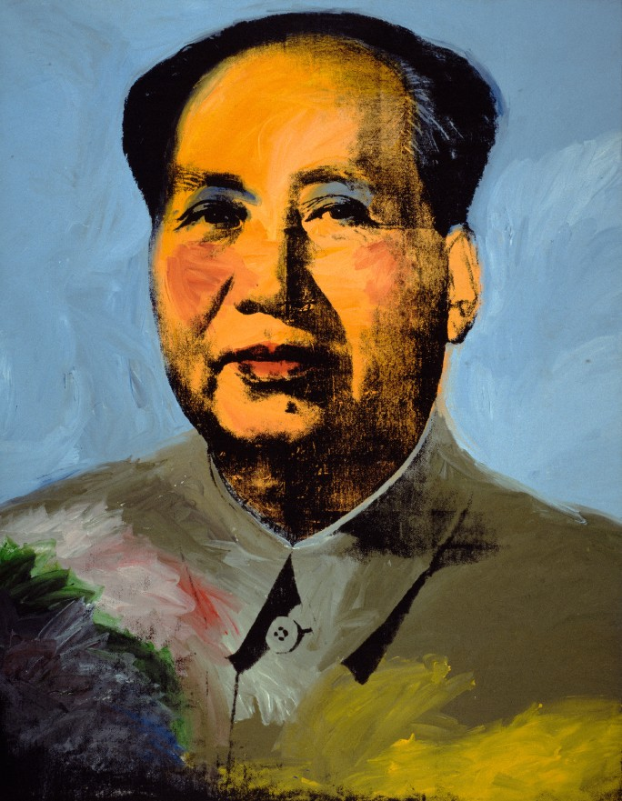 Andy Warhol,  Mao , 1972. © The Andy Warhol Foundation for the Visual Arts, Inc. / Artists Rights Society (ARS) New York.