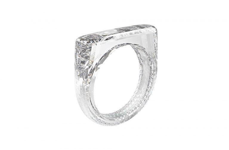 Sir Jony Ive and Marc Newson   THE (RED) DIAMOND RING, A DIAMOND FOUNDRY® CREATED DIAMOND   Estimate 150,000 — 250,000 USD