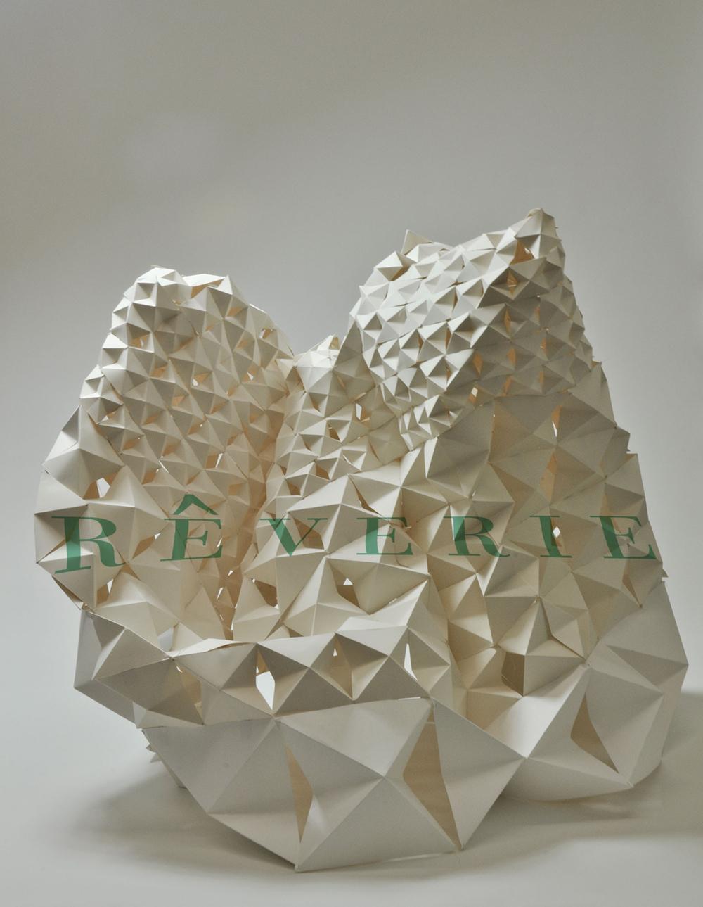 REVERIE Paper Folding, Sculpture