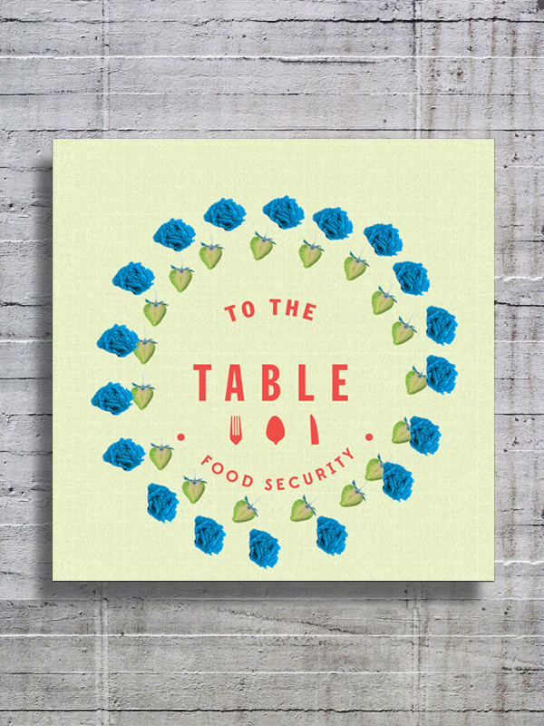 TO THE TABLE Branding, Campaign