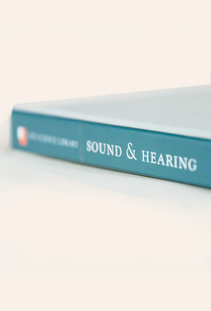 SOUND & HEARING Editorial, Typography, Print