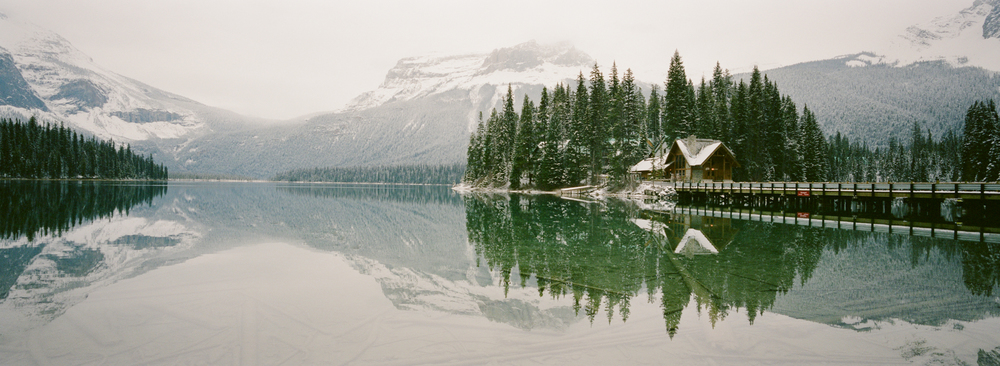 Emerald Lake Lodge, Fuji Pro 400H