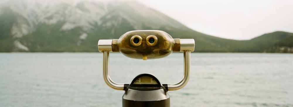 Lake Minnewanka, Kodak Portra 400