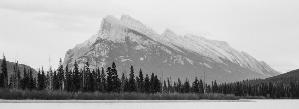 Mount Rundle, Ilford HP5
